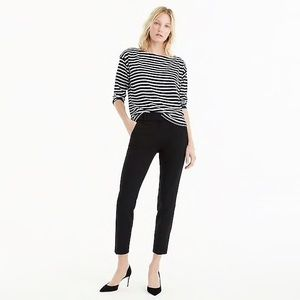 J. Crew Cameron slim cropped pant ankle trouser
